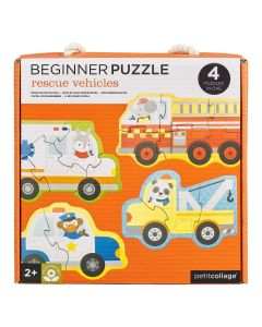 Petit Collage Puzzle Kamioni