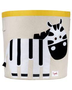 3Sprouts® Košara za pohranu igračaka Zebra