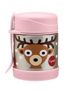 3Sprouts® Termo posudica s priborom za hranjenje 325 ml Bambi