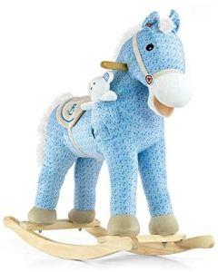 Milly Mally ljuljajući konjić pony - PLAVI