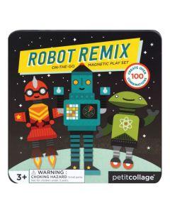 Petit Collage Magneti robot remix