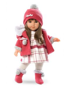 Llorens lutka Elena 35CM Crveno