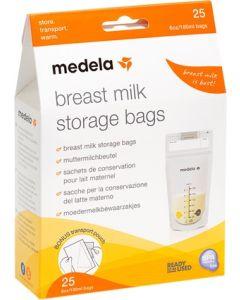 Medela Vrećice za mlijeko 180 ml/25 kom