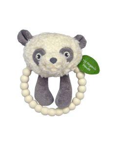 My Teddy Organic Panda Silikonska Zvečka