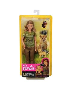 Barbie National Geographic lutka sa lavom - Mattel