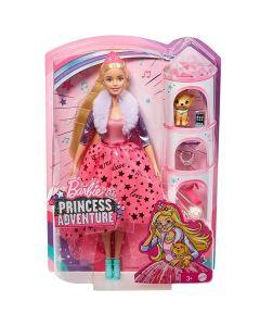 Barbie Princess Adventure Princess: Princeza u pink haljini - Mattel