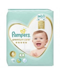 Pampers pelene Premium Care 6 38 komada