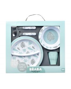 Beaba Set Melamine Plavi Jungle