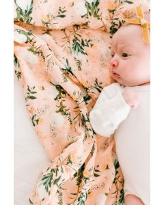Louloulollipop Swaddle Blushing Protea