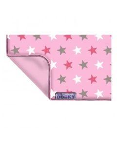 Dooky Pokrivač Pink Stars
