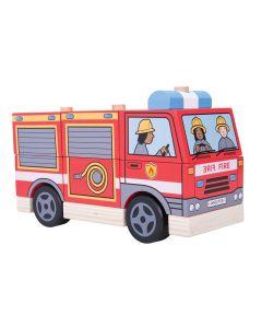 Bigjigs Didaktička Igračka Vatrogasno vozilo