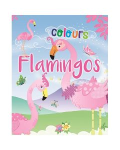 Flamingo colours bojanka