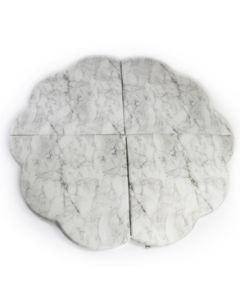 Misioo Marble Podloga Cvijet
