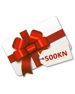 Poklon bon 500 kuna