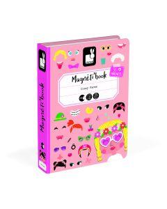Janod Kutija s magnetima - Grimase djevojčica