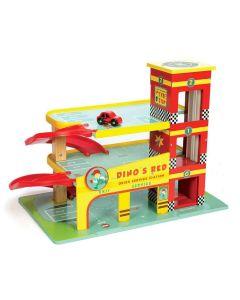 Le Toy Van Auto Garaža Dino