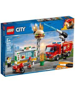 LEGO City Burger Bar Fire
