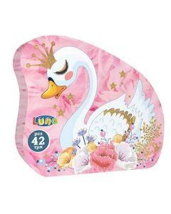 Little Princess labud puzzle 42kom