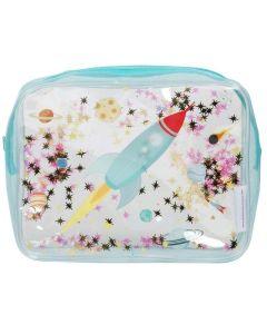 Toaletna torbica - Glitter - space