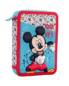 Mickey Mouse 3D punjena pernica