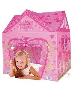 Moja mala kućica, ružičasti šator za igru