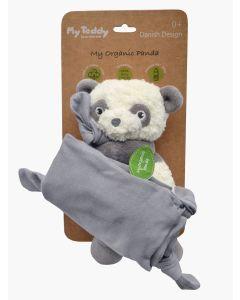 My Teddy Organic Panda Jersey Tješilica