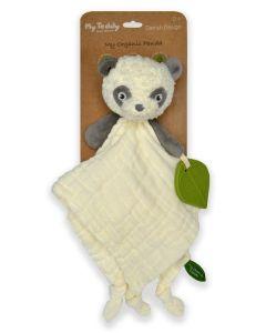 My Teddy organic Panda Muslin Tješilica