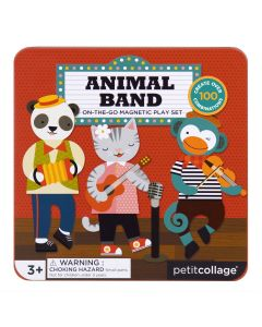 Petit Collage Magneti Animal Band