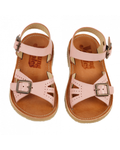 Pearl Leather Nude Pink Child