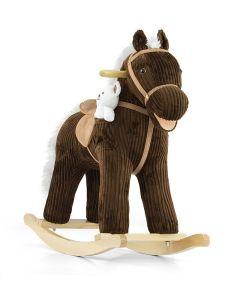 Konjić za ljuljanje smeđi Milly Mally