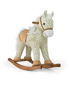 Konjić za ljuljanje sivi s točkicama Milly Mally