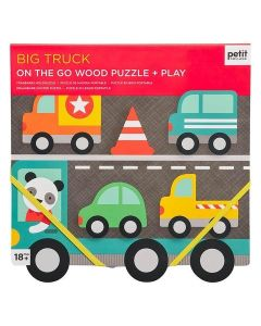 Petit Collage Chunky Puzzle Big Truck