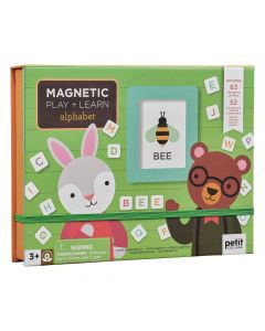 Petit Collage Magneti learn alphabet