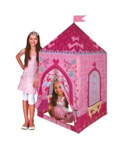 Ružičasti dvorac šator za igru 75x75x160