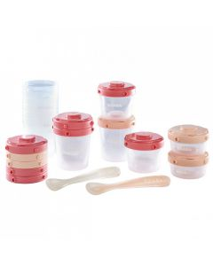 BEABA First Meal Set PINK