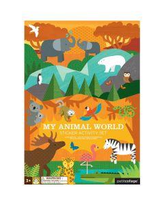 Petit Collage Naljepnice Životinjski Svijet