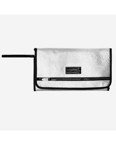 Tiba+Marl® Prijenosna podloga za previjanje Etta Faux Silver