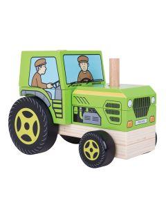 Bigjigs Didaktička Igračka Traktor