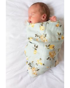 Louloulollipop Swaddle Wild Rose
