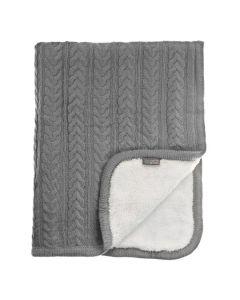 Vinter&Bloom deka Cuddly Dove Grey