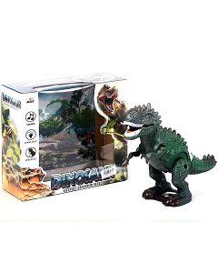 Zeleni T-Rex dinosaur sa svijetlom i zvukom