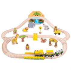 Bigjigs Set Vlakova Džungla