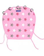 Dooky Universal Cover Design Pink Stars